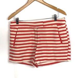🍁3/$25 sale DALIA Stripped shorts size 8